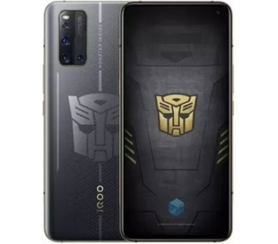 ViVo IQOO 3 5G Transformers Limited Edition Price in Israel